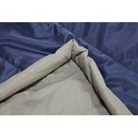 Nordisk Puk +10° Blanket Slaapzak L, zwart/blauw